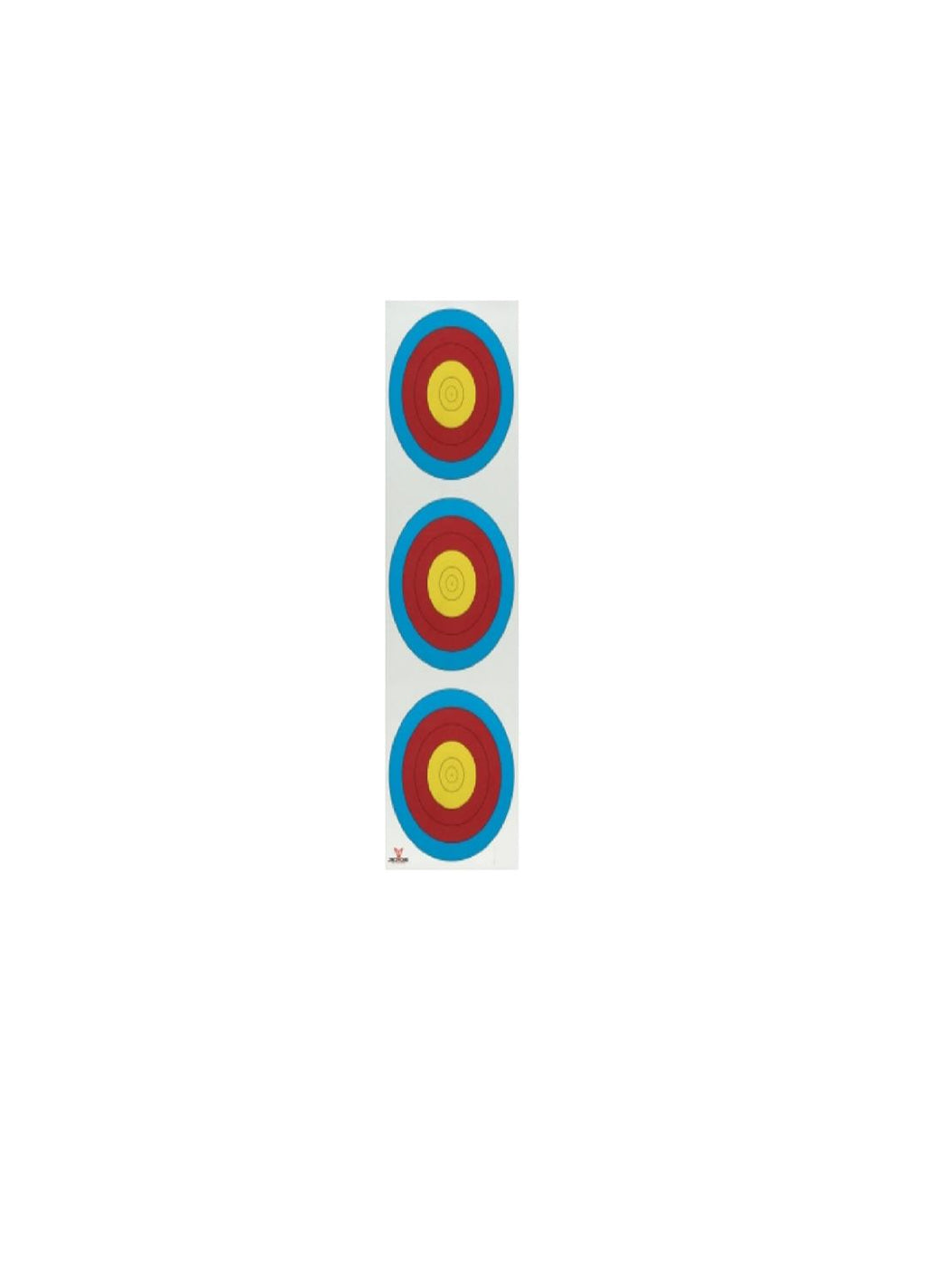 .30-06 Outdoors Vertical 3 Spot Paper Target 100ct