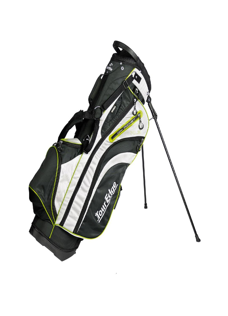 Tour Edge HL3 Golf Stand Bag Black-Silver-Lime