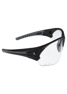 Radians CSB102 Shooting Glasses - Matte Black-Gray-Clear