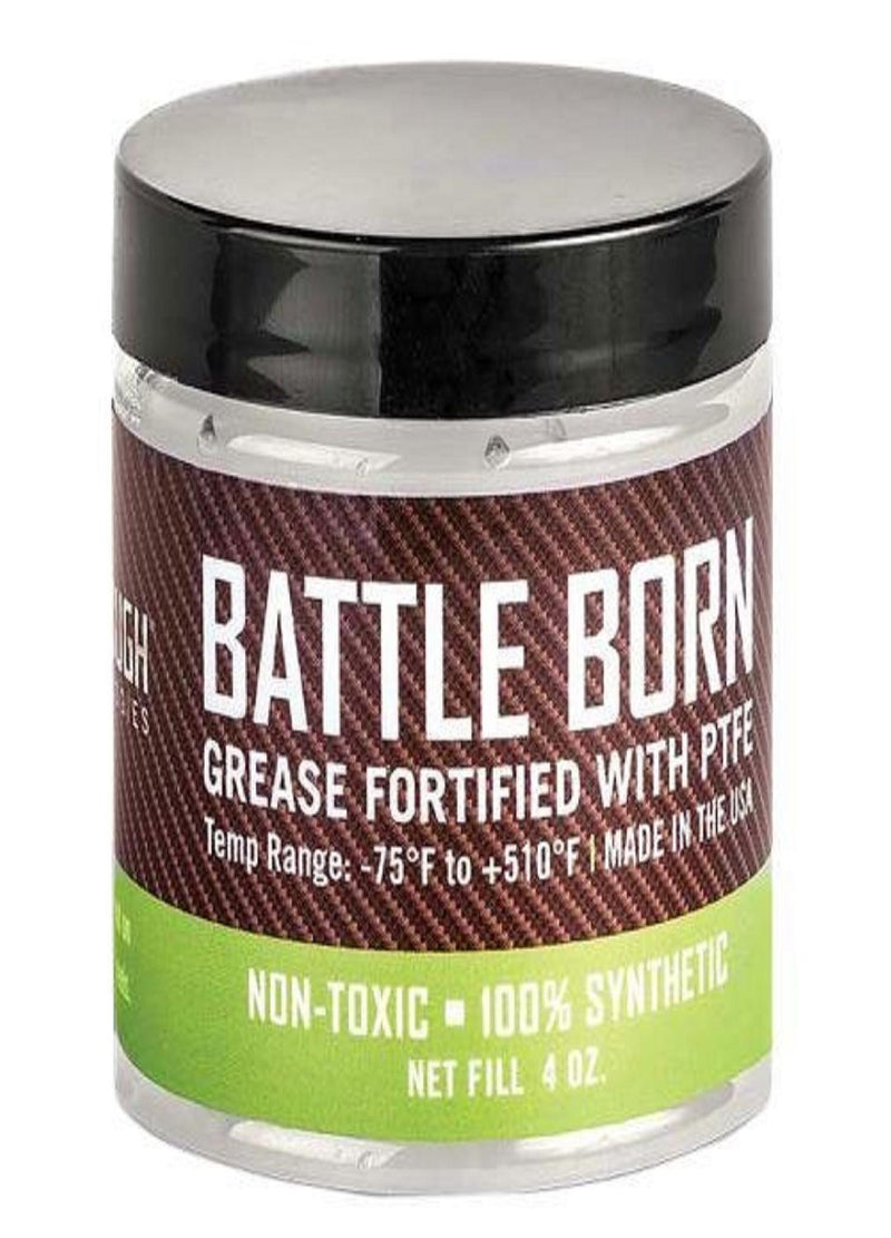 Battle Born Grease Fortified with PTFE - 4oz. Jar