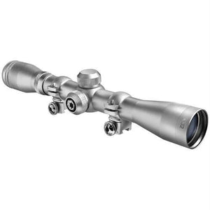 Barska 4x32 IR Plinker-22 Silver Scope with Rings