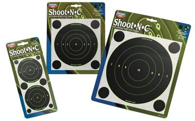 Birchwood Casey Shoot-N-C 3 inch Taget Bull 12 Sheet Pack