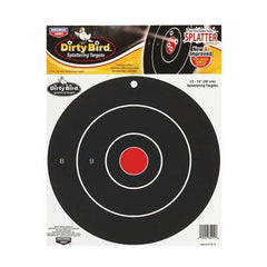Birchwood Casey Dirty Bird Target 12 inch Bull 12 Pack