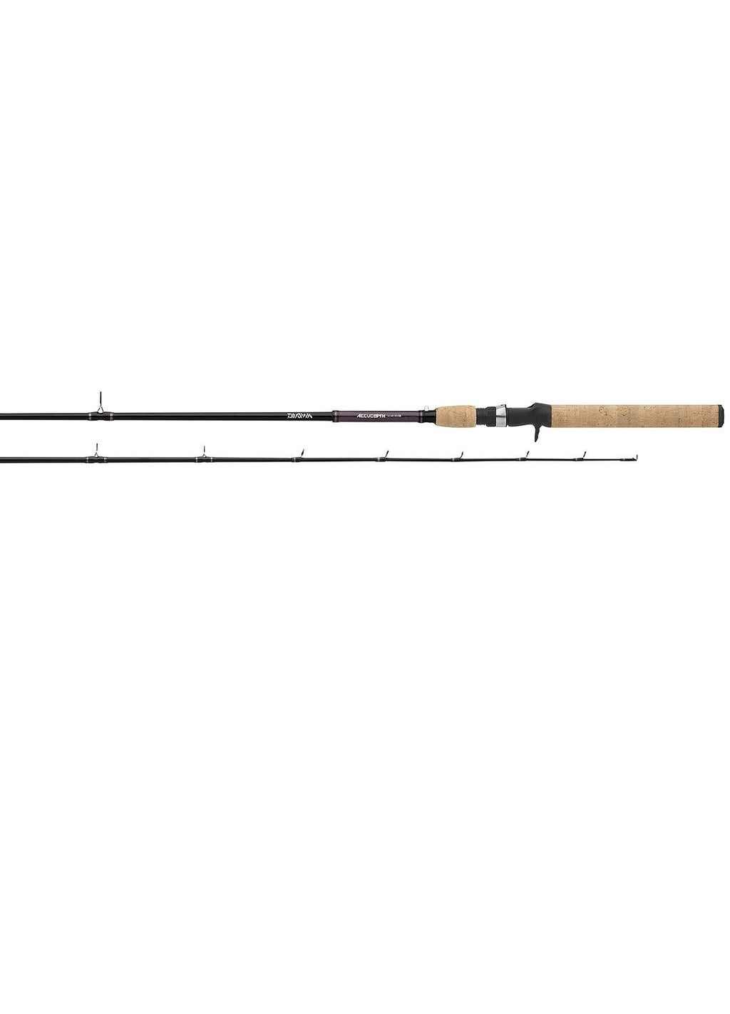 Accudepth Trolling Rod 8ft6in One Piece Telescopic Med Heavy