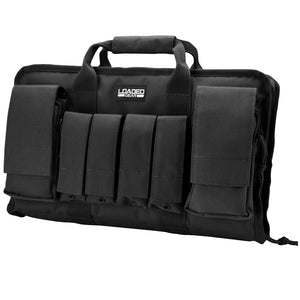 Barska Loaded Gear RX-50 16in Dual Pistol Case-Black