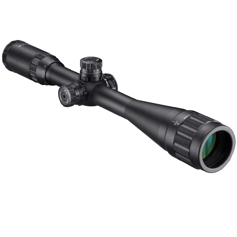 Barska 4-16X40 AO IR Blackhawk Rifle Scope-Mil Dot-Black