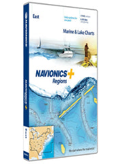 Navionics Regions-East Region MSD-NAV+EA