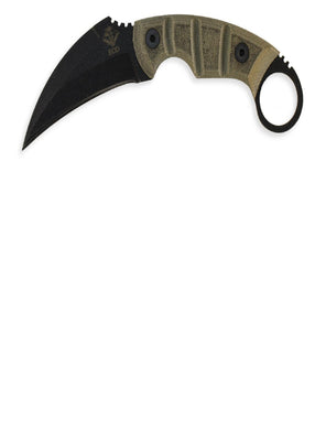 Ontario Ranger Kerambit Fixed Blade EOD 1.8 in Nylon Sheath: *Free Shipping!