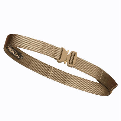 Tac Shield Gun Belt 1.75in COBRA Buckle Medium Coyote