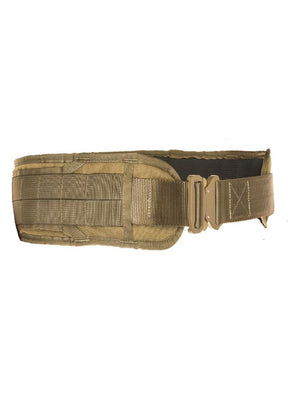 Tac Shield Warrior Belt - Low Profile Small Coyote