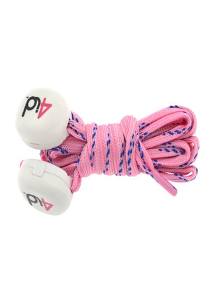 4id PowerLacez Light Up Shoelaces Pink