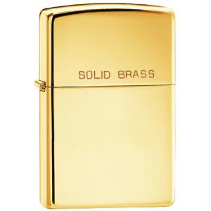 Zippo High Polish Brass Lighter