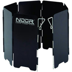 NDuR Mini Stove Wind Shield Black Small