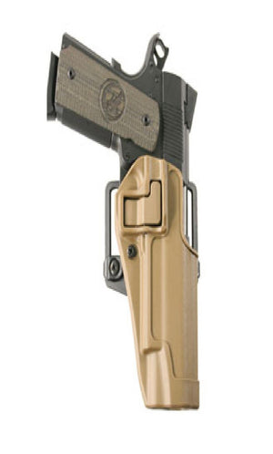 Blackhawk Serpa Concealment Holster RH Coyote Tan 1911 Govt