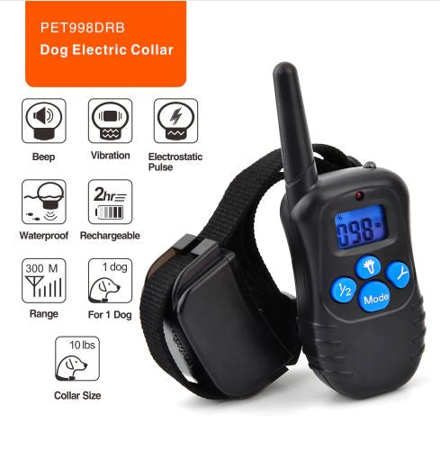 PET998DRB Dog Training Collar