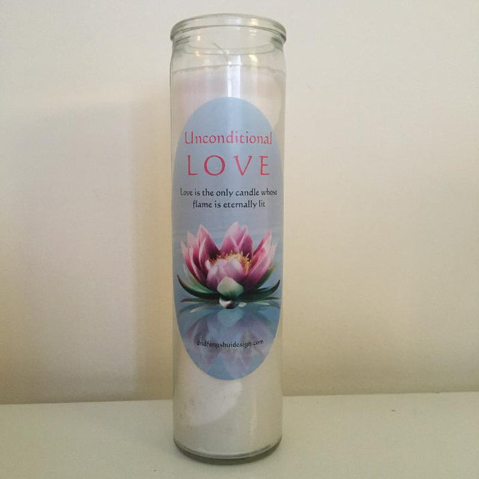 White Love Candle