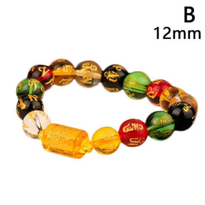 FENG SHUI Jewelry Multi Color Beads this attracts Prosperity and Abundance Unisex