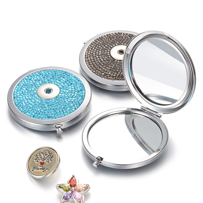 Foldable Studded Double Sided Mirror