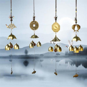 REMOVES NEGATIVE ENERGY Feng Shui Wind Chime brings Good Vibes
