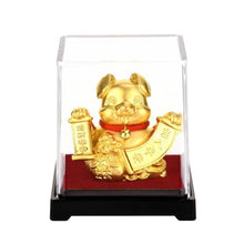 Zodiac Lucky Wealth Ornament in 24K Gold Foil