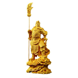 Powerful Guan Gong statue Justice, Prosperity and Protection