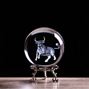 Zodiac Ox Crystal Ball