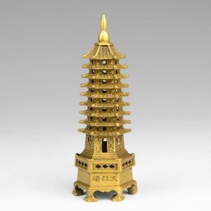 Powerful Cure LARGE TOWER PAGODA Statue handicraft