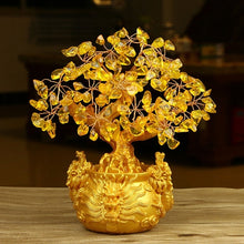 Lucky Wealth Gold Money Wealth Tree
