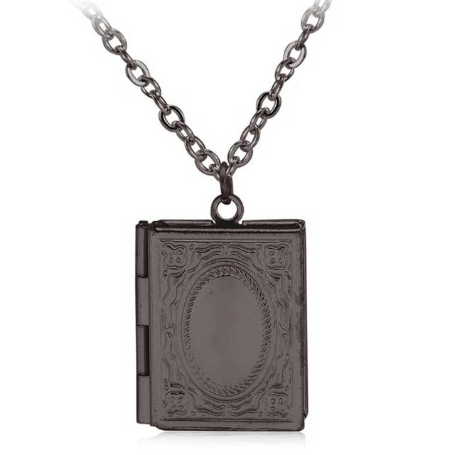Secret Book Necklace