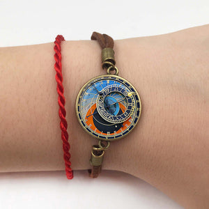 Ancient Astroclock. Astrology Clock. Pendant - Bracelet