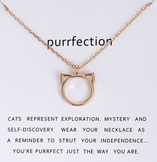 FREE Cat Necklace - Purrfection