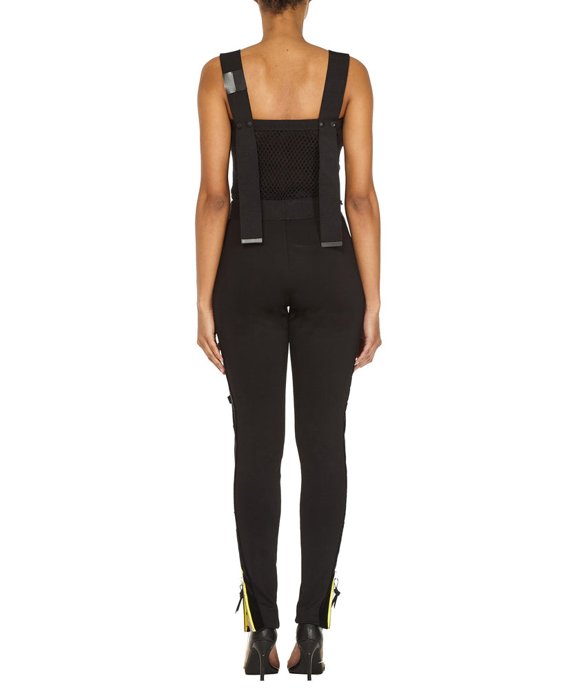 ZIP LEGGINGS-BACK VIEW-THE BOX BOUTIQUE