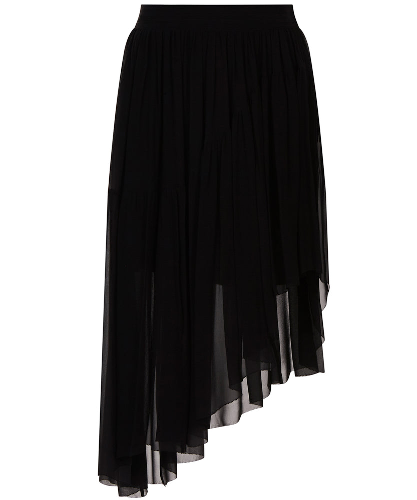 ASYMMETRIC HEM SKIRT - THE BOX BOUTIQUE