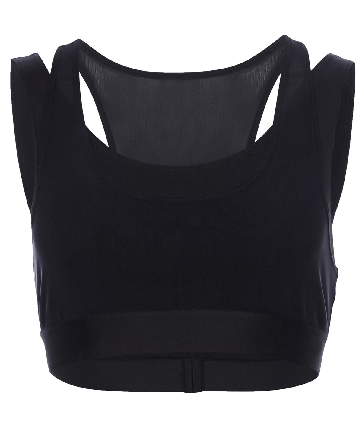 Heroine Sport Racing Women Black Top