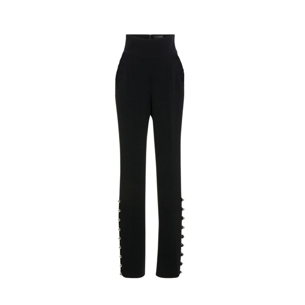 CADY HIGH-WAISTED TROUSERS - THE BOX BOUTIQUE