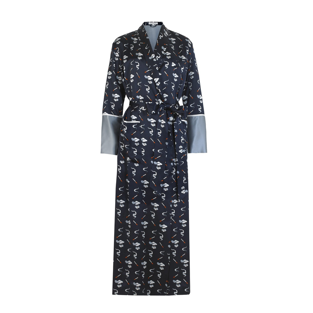 CAPABILITY WALLIS FULL LENGTH ROBE-FRONT VIEW-THE BOX BOUTIQUE