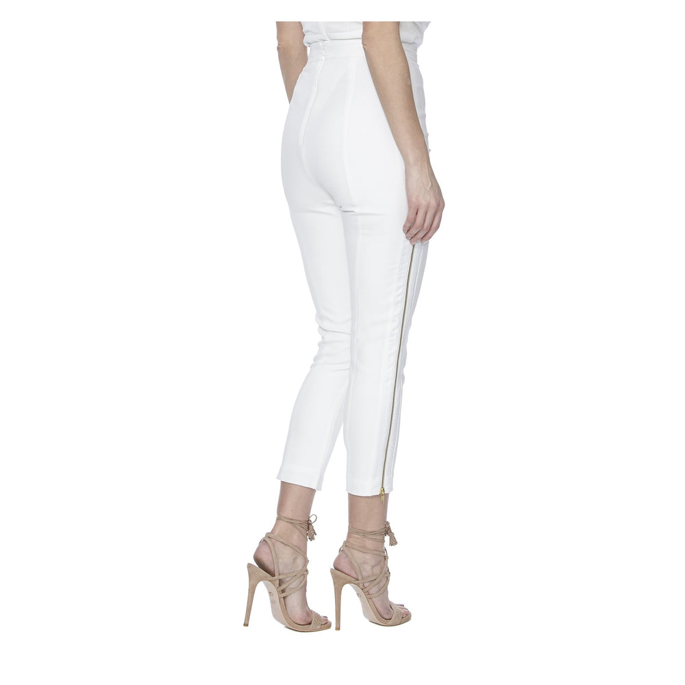 ALTHEA PANTS IN WHITE - BACK VIEW - THE BOX BOUTIQUE