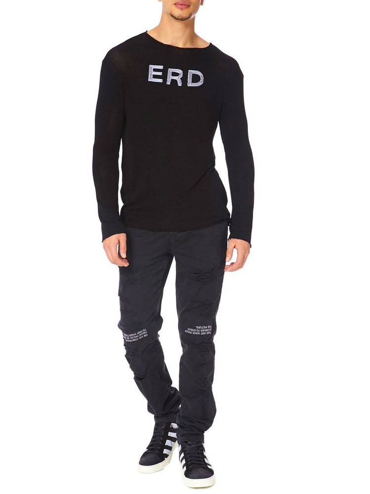 Enfants Riches Deprimes-Men Erd Black Crewneck