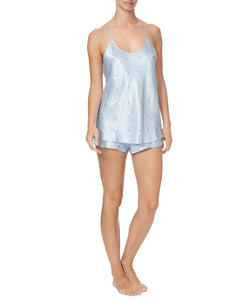 BELLA COURTNEY SILK CAMISOLE SET-SIDE VIEW-THE BOX BOUTIQUE