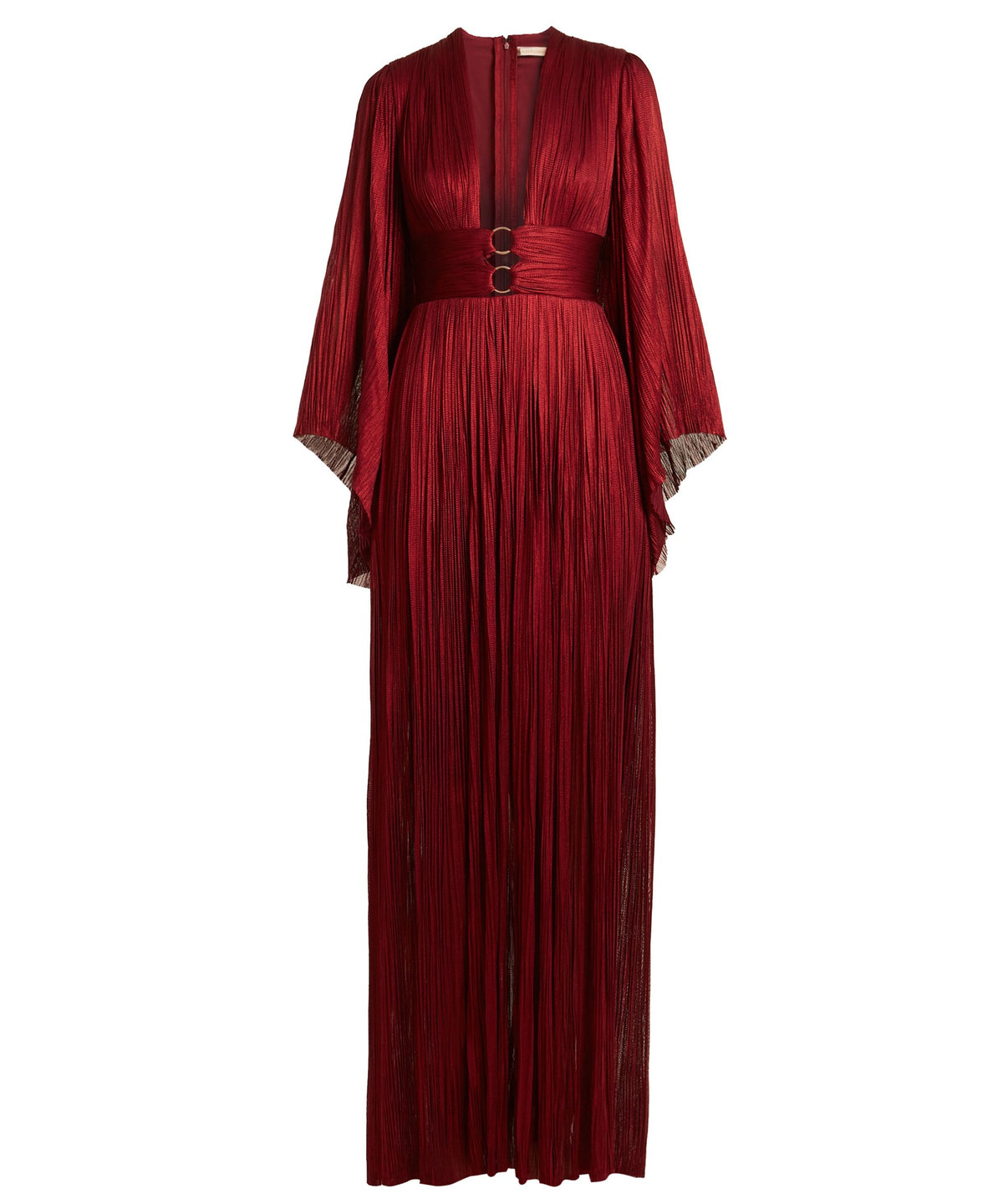 CHARLIZE PLEATED GOWN - THE BOX BOUTIQUE