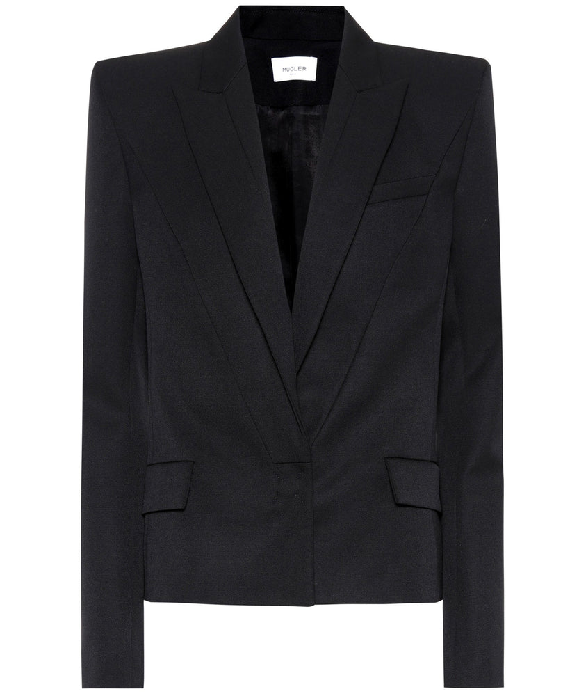 BLACK BLAZER - THE BOX BOUTIQUE