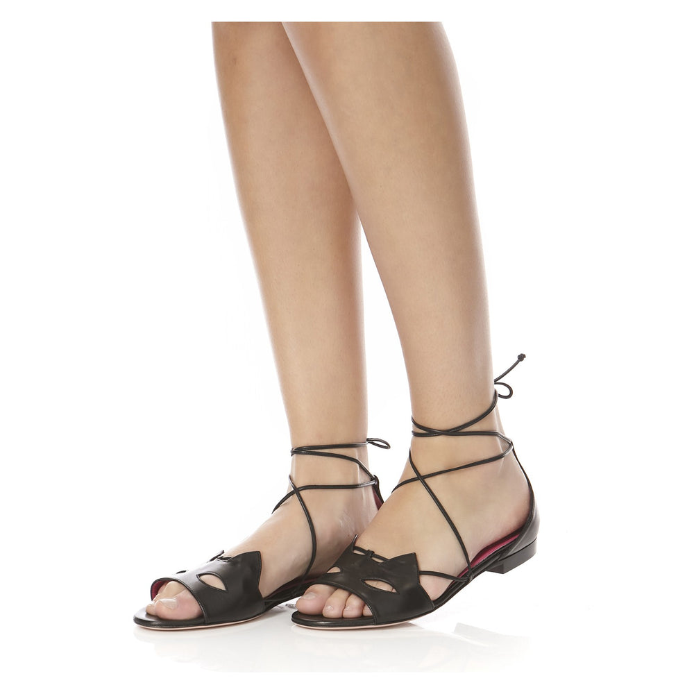 KITTY FLAT SANDALS-SIDE VIEW-THE BOX BOUTIQUE