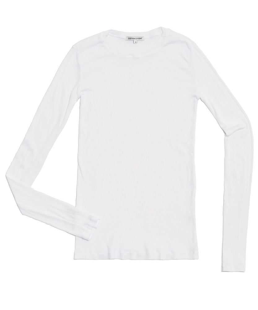 The Venice Long Sleeve White - THE BOX BOUTIQUE