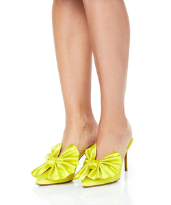Alexandre Vauthier Kate Women Yellow Heels
