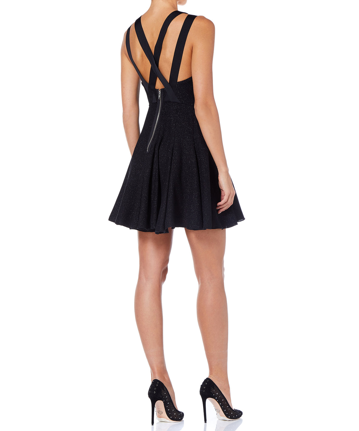 Alex Perry Azura Women Black Dress