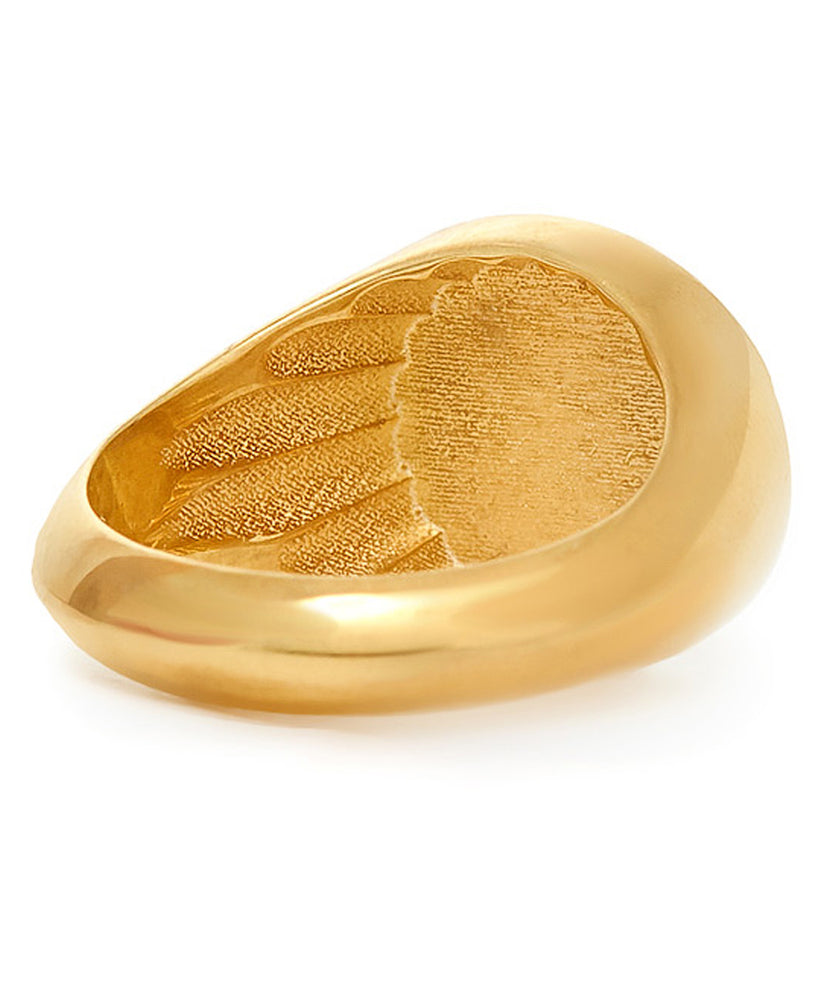 Maria Stern Signet Women Gold Ring
