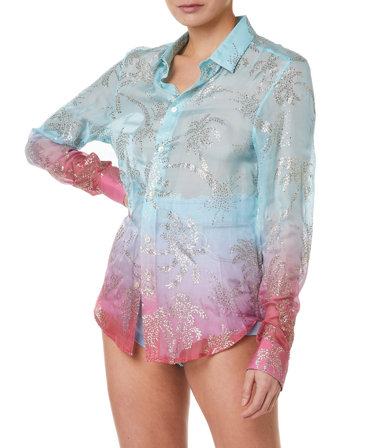 Garcons Infideles Palm Women Multi Shirt