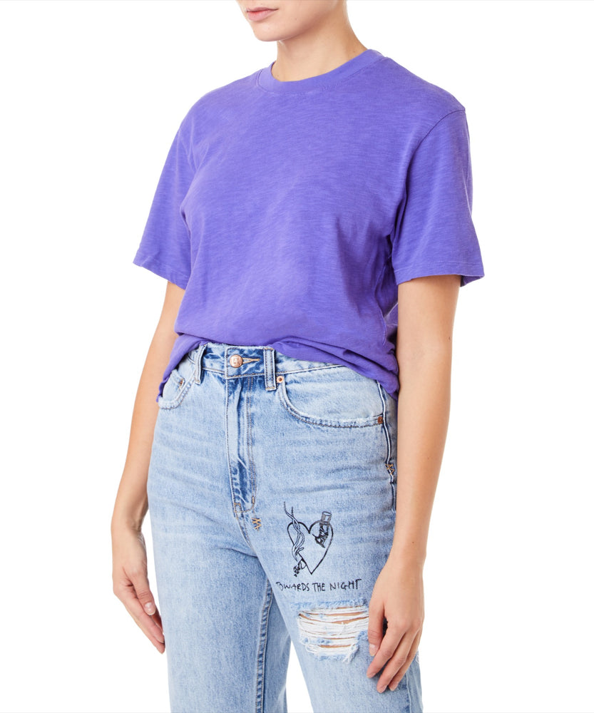 Cotton Citizen Presley Tee Women Purple Shirt