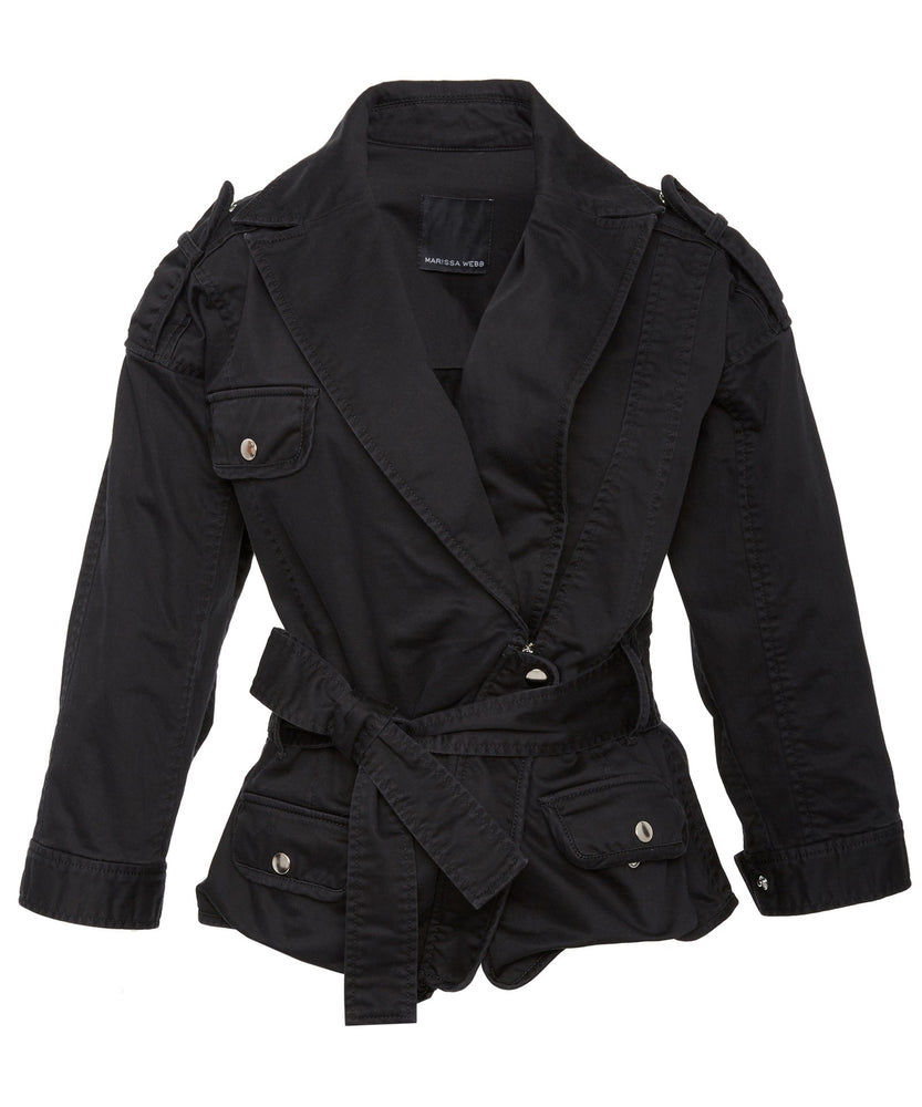 JULIE WASHED JACKET - THE BOX BOUTIQUE