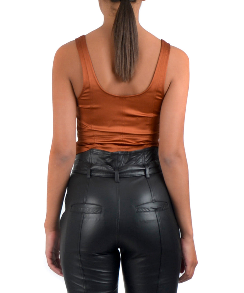 PORTIA CROP TOP -BACK VIEW - THE BOX BOUTIQUE